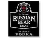 Russian Bear Brand Vodka